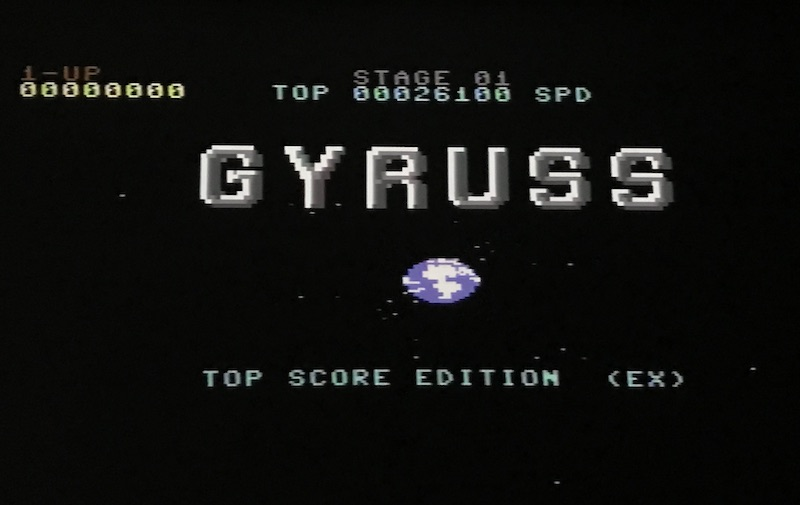 gyruss hiscore